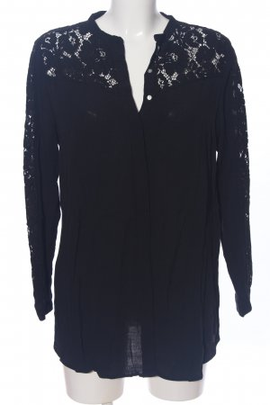 H&M Mama Lace Blouse blue casual look