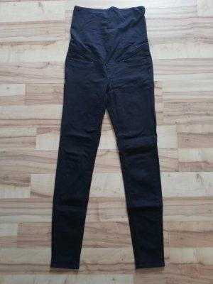H&M Mama Pantalone elasticizzato blu scuro