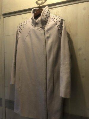 H&M Manteau polaire gris clair