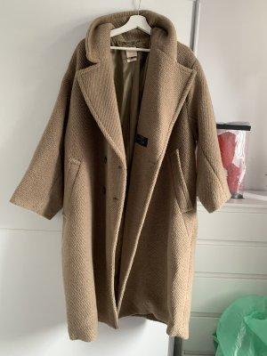 H&M Długa kurtka beżowy