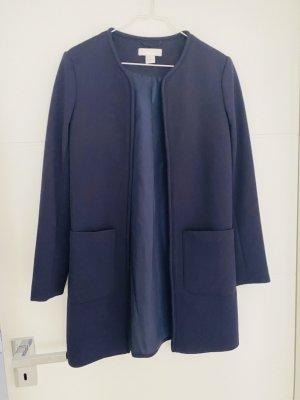 H&M Mantel Gr 34 blau Cardigan
