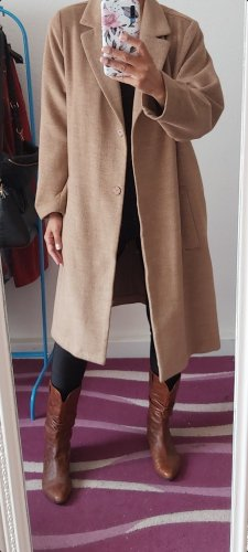 H&M Oversized Coat beige