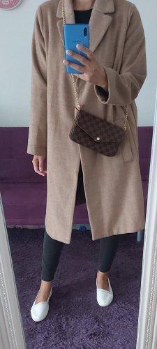 H&M Płaszcz oversize beżowy