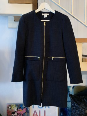 H&M Mantel Jacke Übergangsmantel dunkelblau