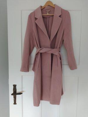 H&M Wool Coat dusky pink