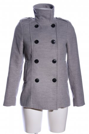 H&M Naval Jacket light grey flecked business style