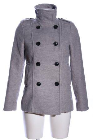 H&M Veste de marin gris clair moucheté style d'affaires