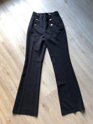 H&M Marlene Dietrich broek zwart
