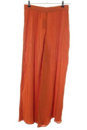 H&M Marlene Dietrich broek licht Oranje casual uitstraling