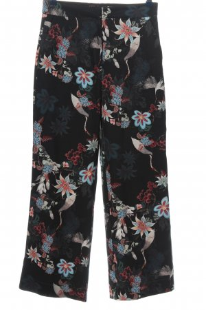 H&M Marlenehose Allover-Druck Casual-Look