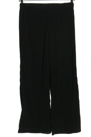 H&M Pantalón anchos negro look casual
