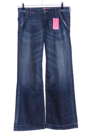 H&M Jeans large bleu style décontracté