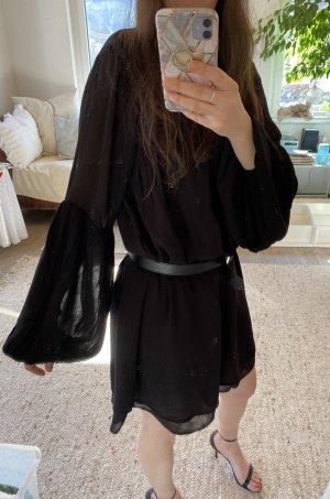 H&M Divided Empire Dress black