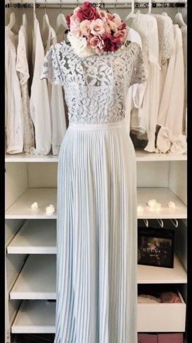 H&M Lace Dress baby blue-light blue