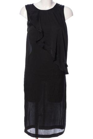 H&M Midikleid schwarz Casual-Look