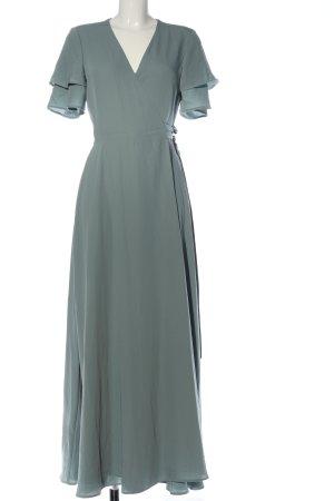 H&M Maxikleid hellgrau Elegant