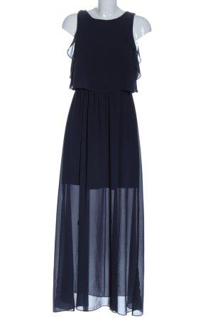 H&M Robe longue bleu élégant