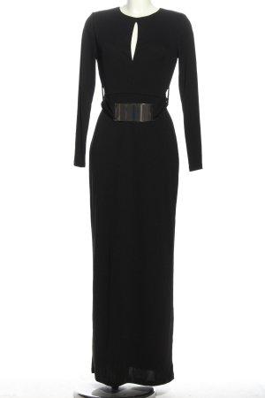 H&M Maxikleid schwarz Elegant