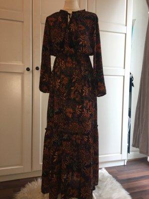 H&M Maxikleid gemustert Gr.34 Sommerkleid