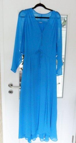 H&M Maxikleid ,knall blau, Gr.XS,38/40/42, NEU