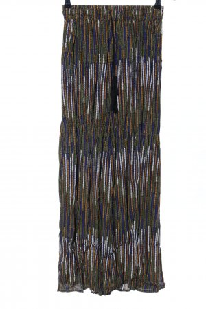 H&M Falda larga multicolor look Street-Style
