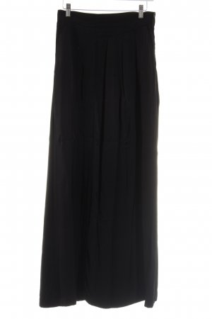 H&M Maxi rok zwart elegant