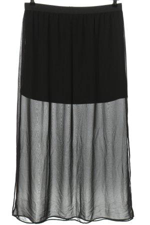 H&M Falda larga negro look casual