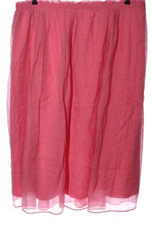 H&M High Waist Rock pink Casual-Look