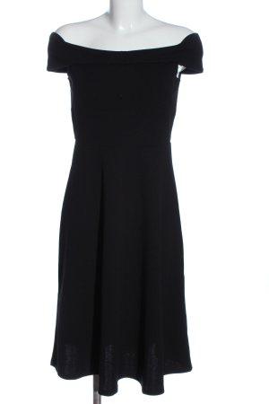 H&M Midikleid schwarz Elegant