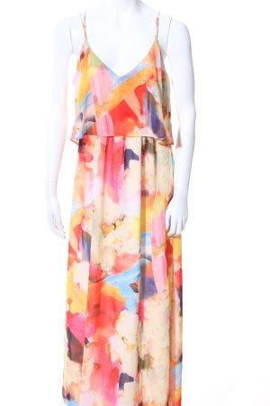 H&M Midikleid abstraktes Muster Casual-Look