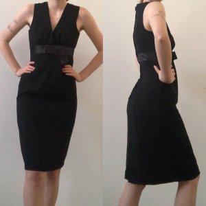 H&M Midikleid 38 M schwarz formell Abendkleid schick klassisch