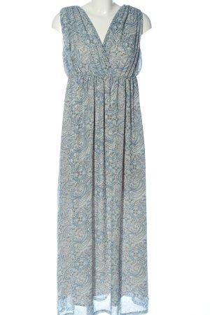 H&M Maxikleid abstraktes Muster Elegant