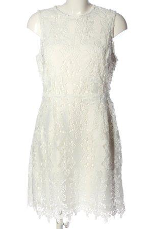 H&M Etuikleid weiß Elegant