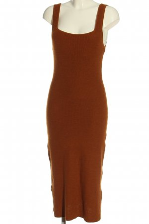 H&M Tube Dress light orange casual look