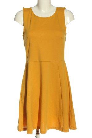 H&M A-Linien Kleid hellorange Casual-Look