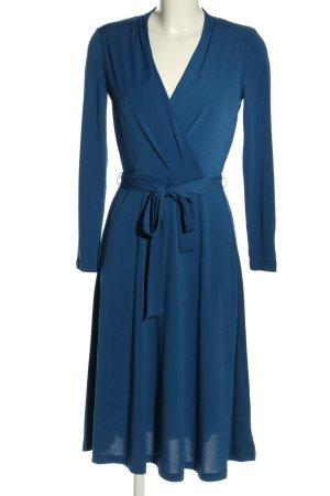 H&M Midikleid blau Casual-Look