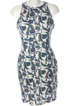 H&M Bleistiftkleid abstraktes Muster Casual-Look