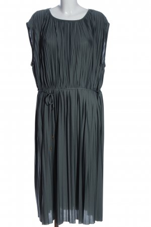 H&M Midikleid silberfarben Elegant