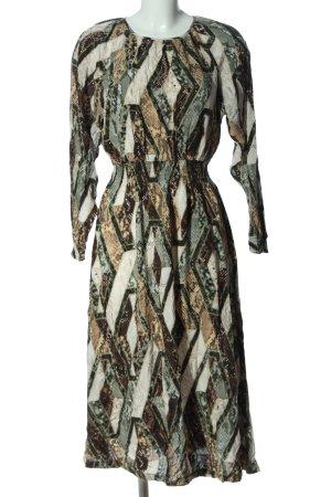 H&M Midi Dress allover print casual look