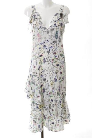 H&M Midikleid florales Muster Casual-Look