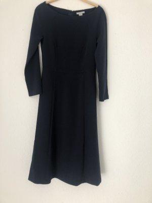 H&M Midikleid Kleid Royalblau