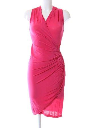 H&M Midikleid pink Elegant