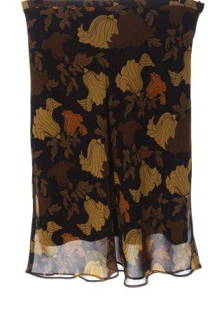 H&M Midirock abstraktes Muster Casual-Look