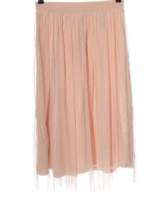 H&M Midirock pink Casual-Look