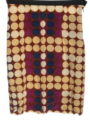 H&M Spódnica midi Wzór w kropki Elegancki