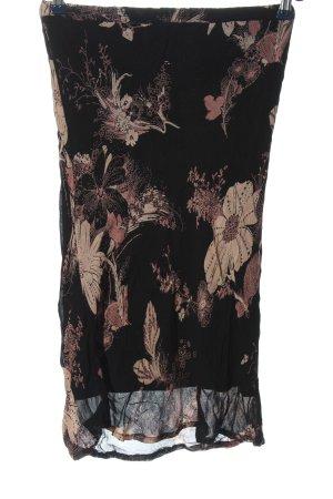 H&M Falda stretch estampado con diseño abstracto look casual