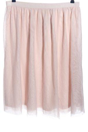 H&M Jupe en taffetas rose élégant