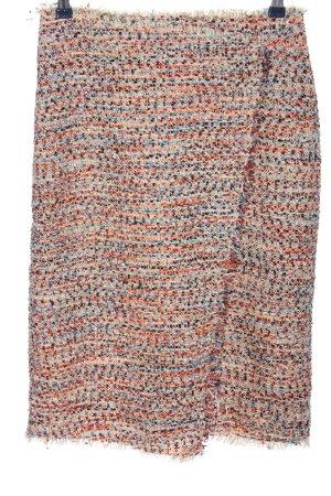 H&M Tweedowa spódnica Wielokolorowy W stylu casual