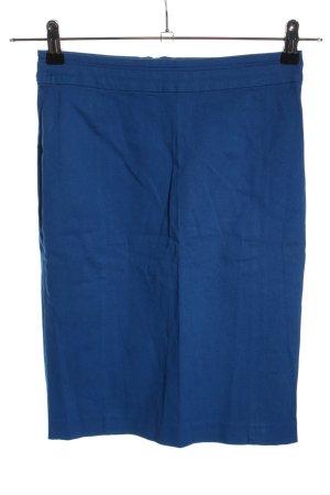 H&M Bleistiftrock blau Casual-Look
