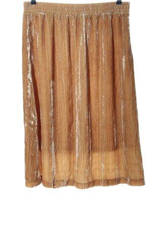 H&M Spódnica ze stretchu brązowy W stylu casual